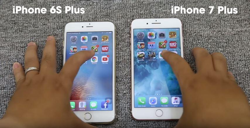 So sánh hiệu năng xử lý ứng dụng, game giữa iPhone 7 Plus và iPhone