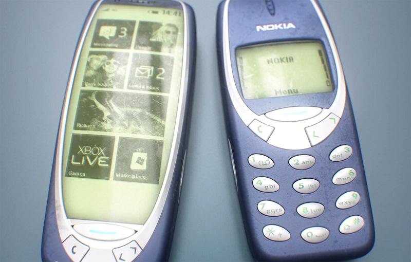 Màn hình luôn bật đã có trên những máy đồ cổ của Nokia