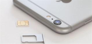 iPhone 6 không nhận sim, nguyên nhân và cách xử lý