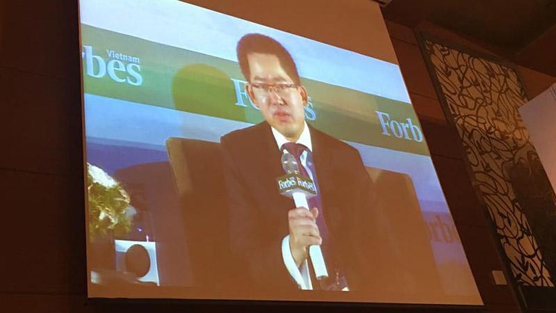 CEO Nguyễn Đức Tài phát biểu ấn tượng tại FBF 2016 Forbes VN