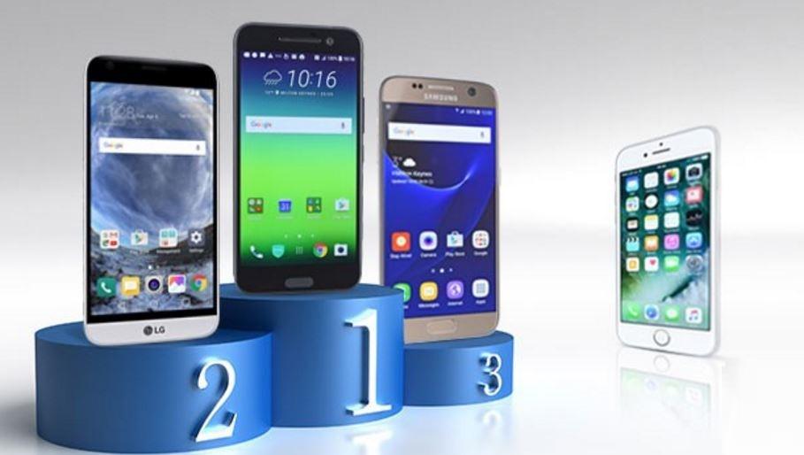 Thời lượng pin iPhone 7 thua xa nhiều mẫu smartphone Android cao cấp