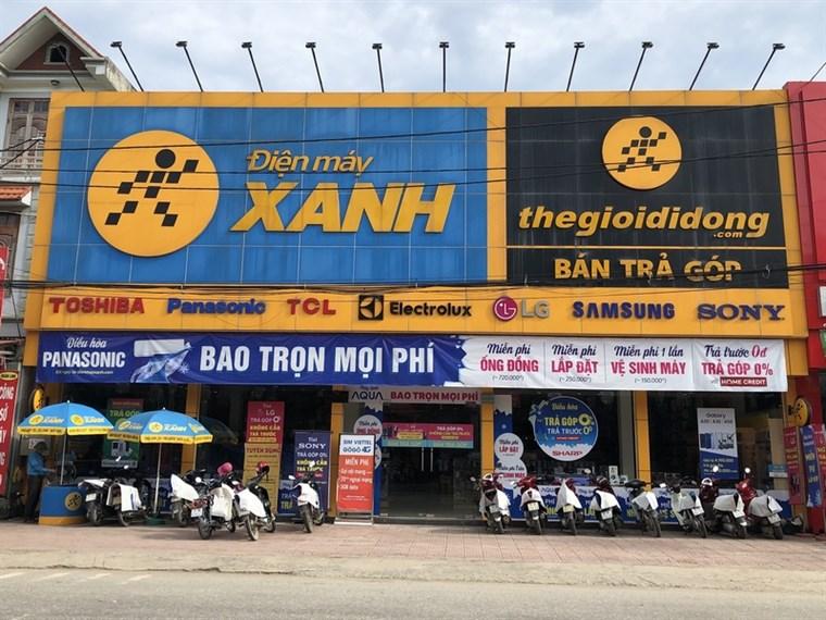 Điện Máy Xanh & Thế Giới Di Động Ninh Bình