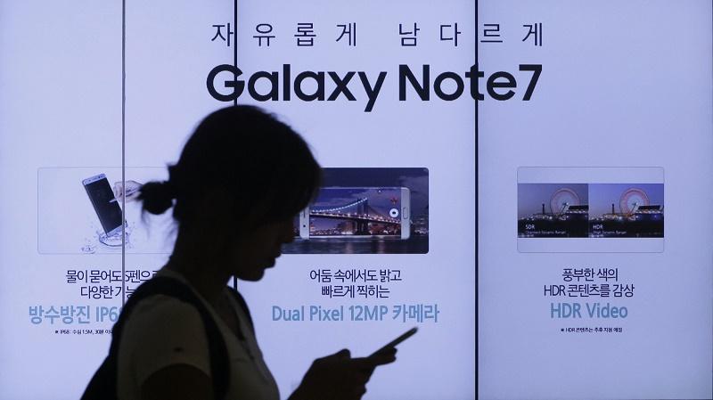 Galaxy Note 7 bất ngờ phục hồi mạnh mẽ ngay tại quê nhà