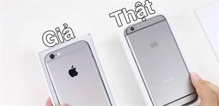 Phân biệt iPhone thật giả chính xác nhất
