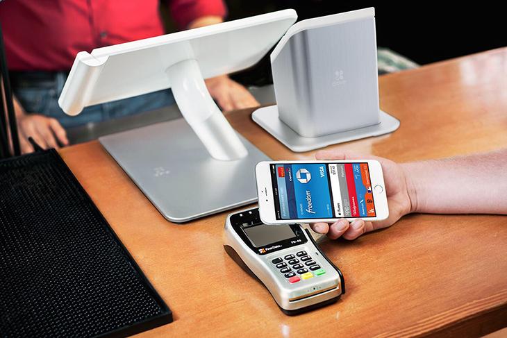 NFC dùng trong thanh toán