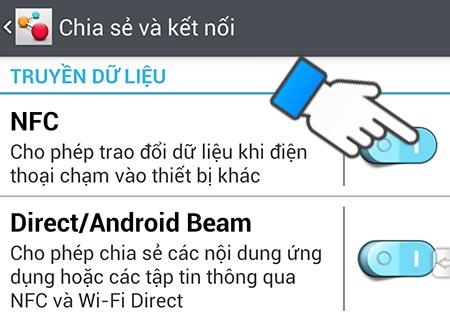 Bật NFC