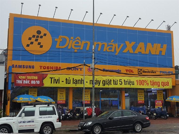 Siêu thị điện máy xanh tại Tổ 4, Đại Lộ Đông A, P. Lộc Vượng, TP. Nam Định, T. Nam Định