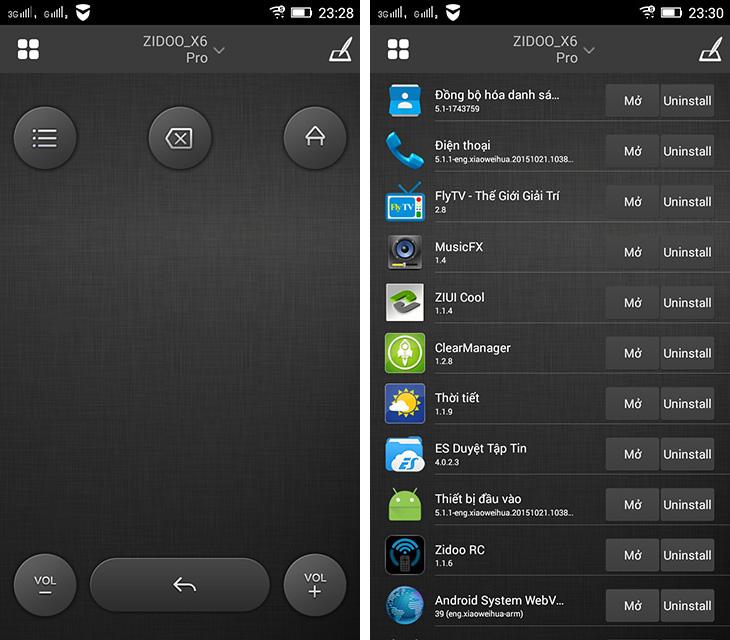 Zidoo Remote Control tương thích với các sản phẩm của hãng Zidoo
