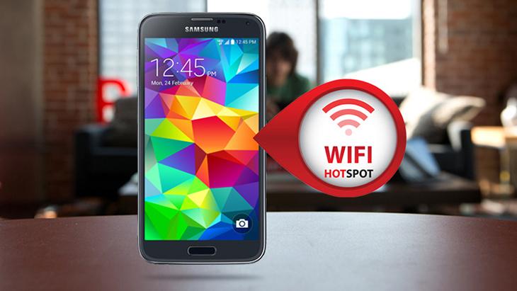 Tính năng wifi hotspot trên điện thoại