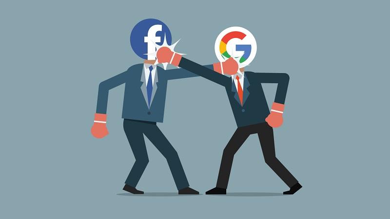 Cạnh tranh thêm 10 năm, Google và Facebook vẫn giẫm chân nhau