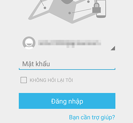 Đăng nhập bằng tài khoản Google trên thiết bị bị mất