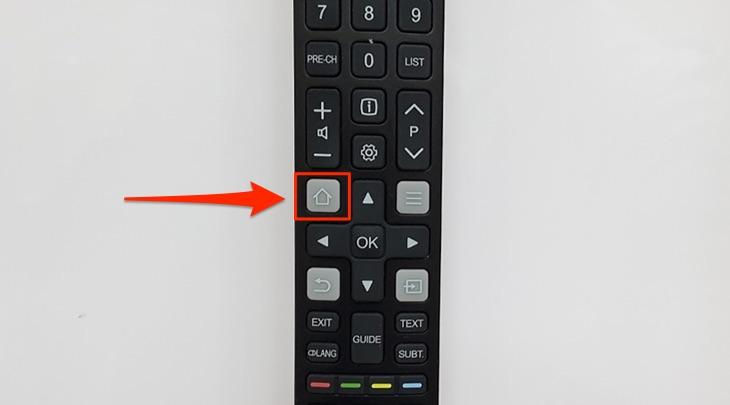Remote trên tivi TCL