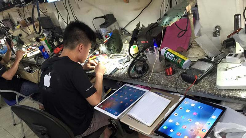 Kết quả hình ảnh cho Thay đổi tương lai nhờ nghề sửa chữa smartphone