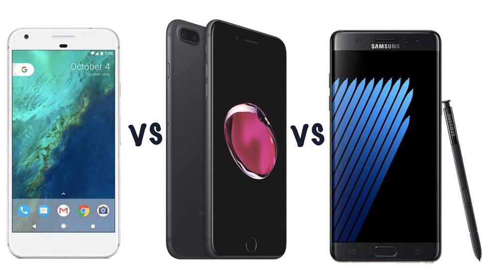 """Trong vụ Galaxy Note 7 """"thất thủ ai sẽ là """"ngư ông đắc lợi"""""""