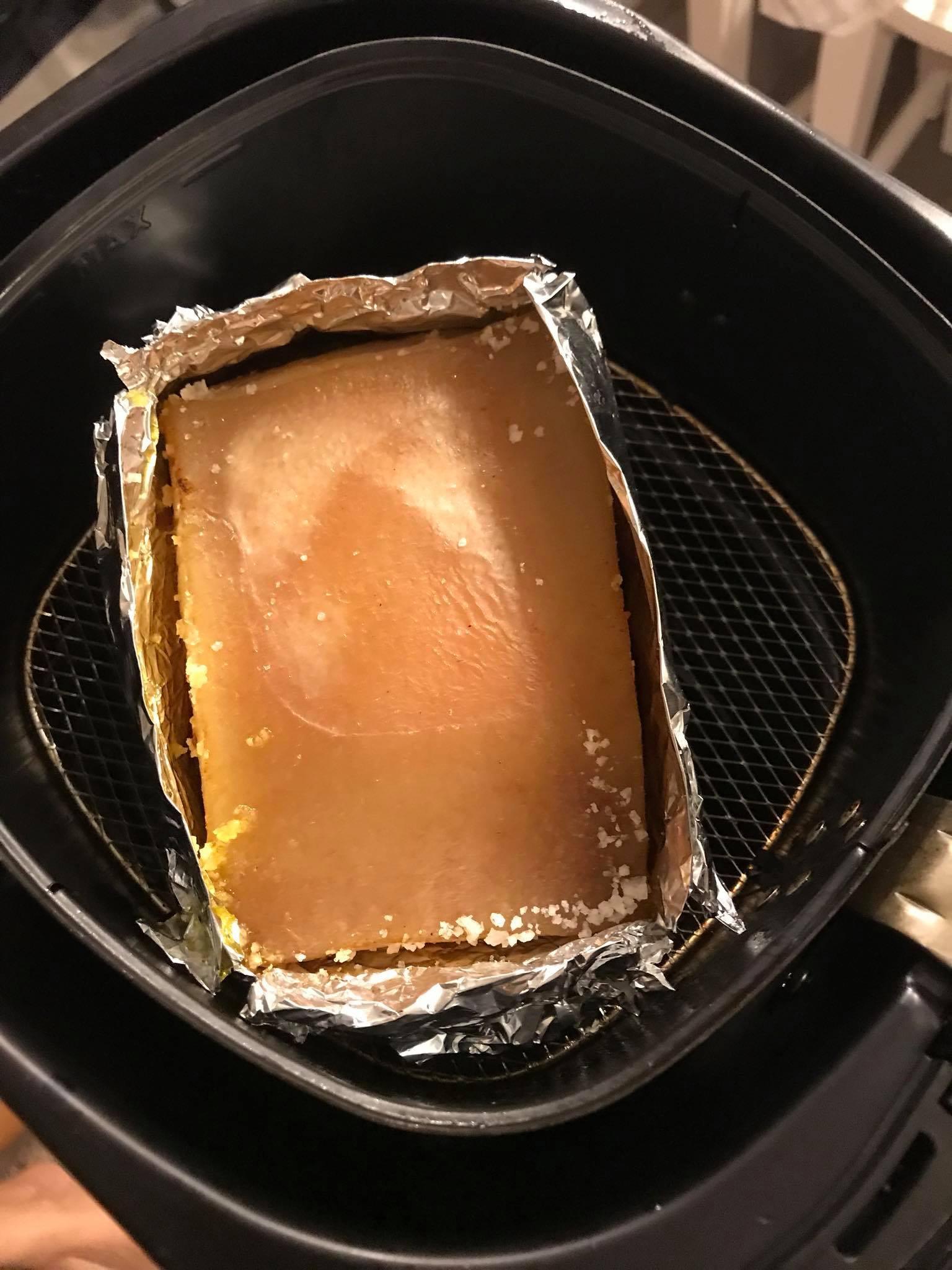 Bước 2 Nướng thịt Thịt heo nướng da giòn