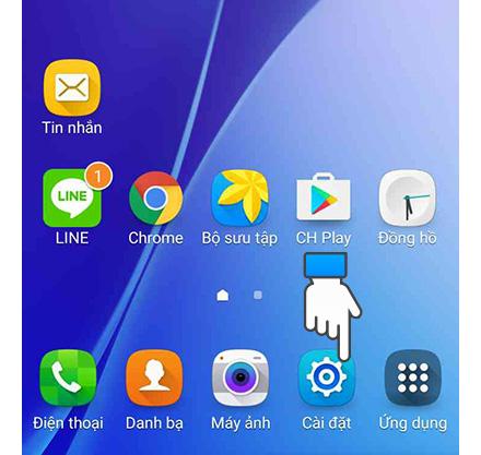 Cách thay đổi font chữ trên điện thoại Samsung