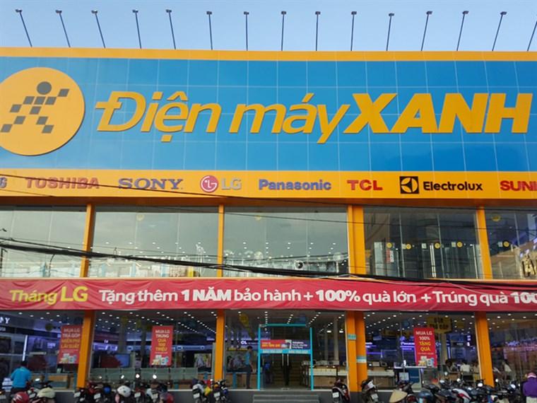 Siêu thị điện máy xanh tại Số 71 Lê Văn Việt, P. Hiệp Phú, Q.9 , TP. Hồ Chí Minh