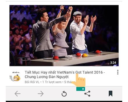 Cách tải video trên Youtube từ điện thoại Android