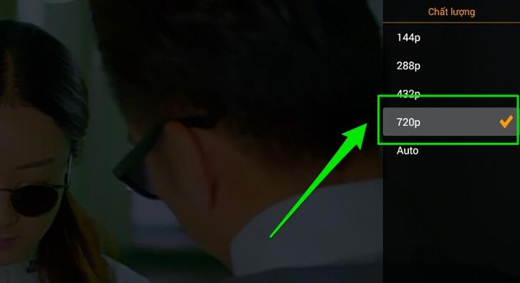 Chọn chất lượng video