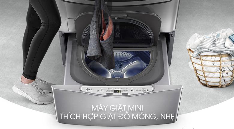 Công dụng của máy giặt mini