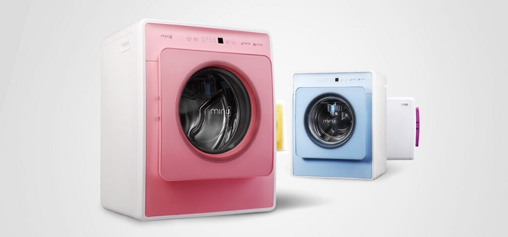 Máy giặt mini có nhiều loại
