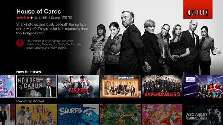 Ứng dụng Netflix