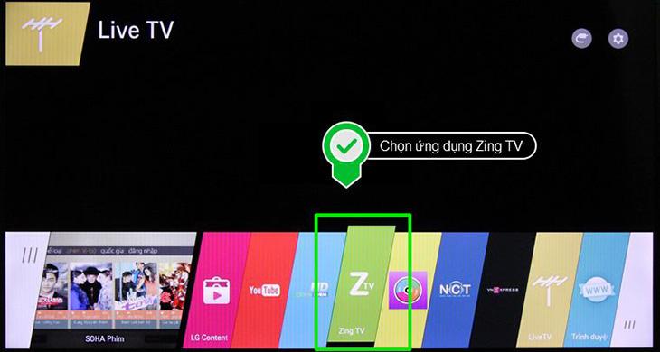 Cách cài đặt Zing TV