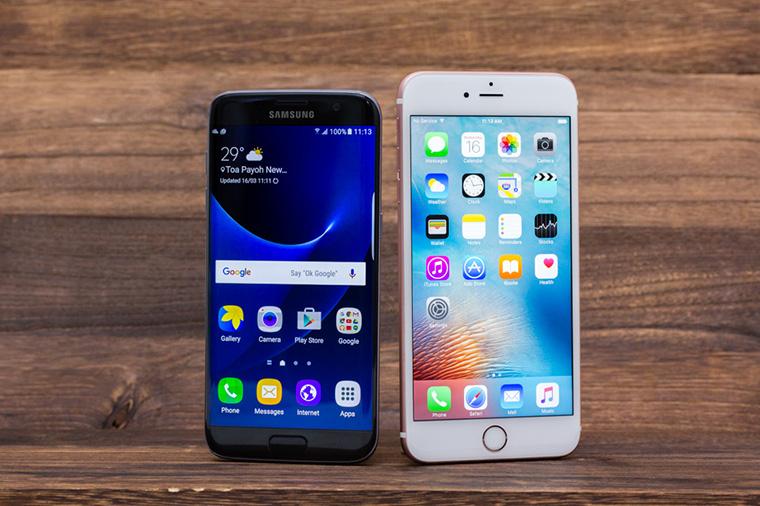 Giá bán iPhone thường cao hơn so với Samsung