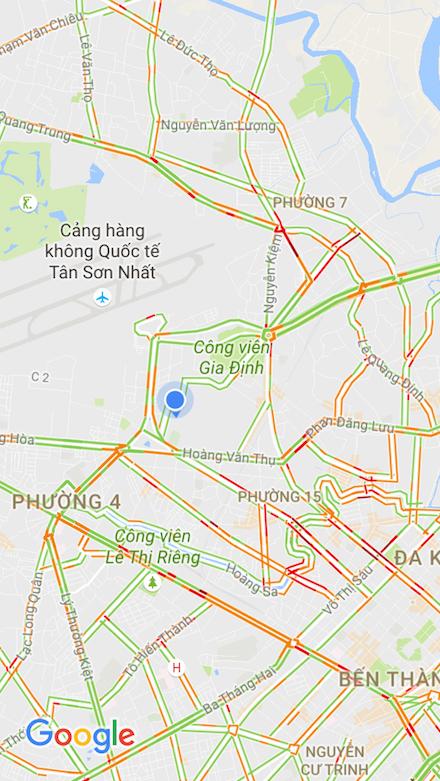 tình trạng giao thông