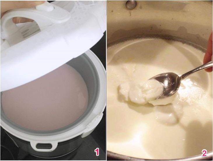 Cách làm sữa chua Hy Lạp bằng nồi cơm điện