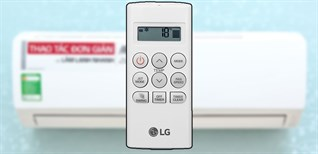 Hướng dẫn sử dụng điều khiển điều hòa LG S09EN3