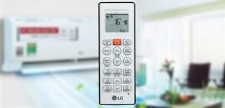 Hướng dẫn sử dụng điều khiển điều hòa LG V13END