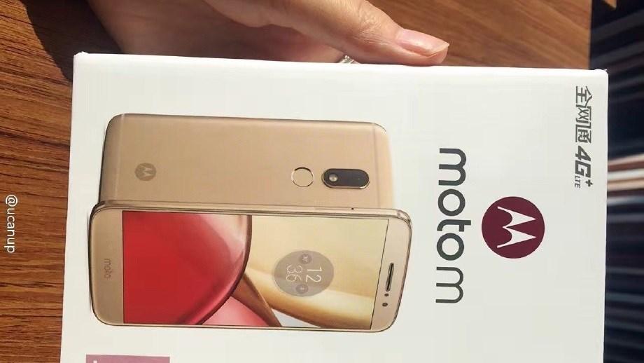Moto M camera 16MP, RAM 4GB chưa ra mắt nhưng đã lộ ảnh đập hộp