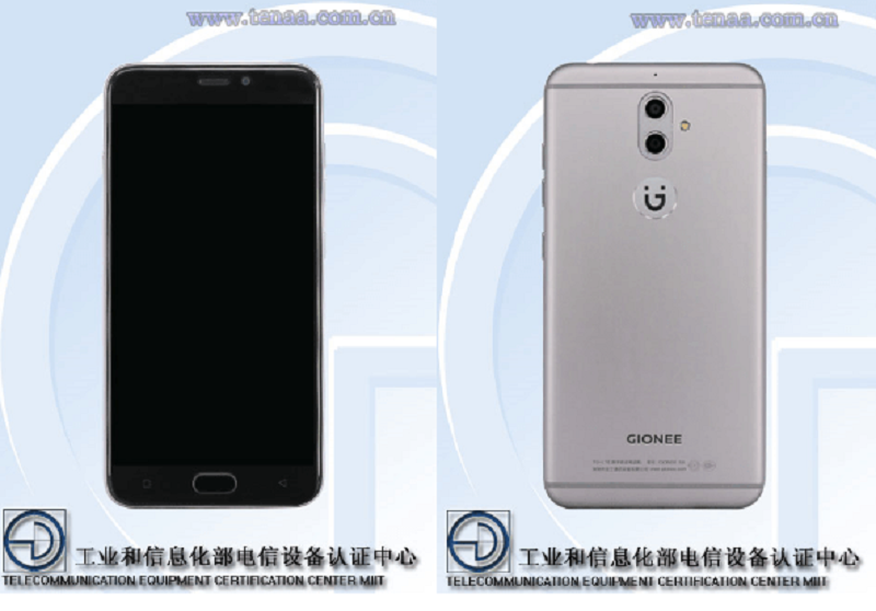 Rò rỉ smartphone đầu tiên sử dụng camera kép của Gionee