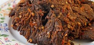 Cách làm thịt bò khô bằng nồi cơm điện