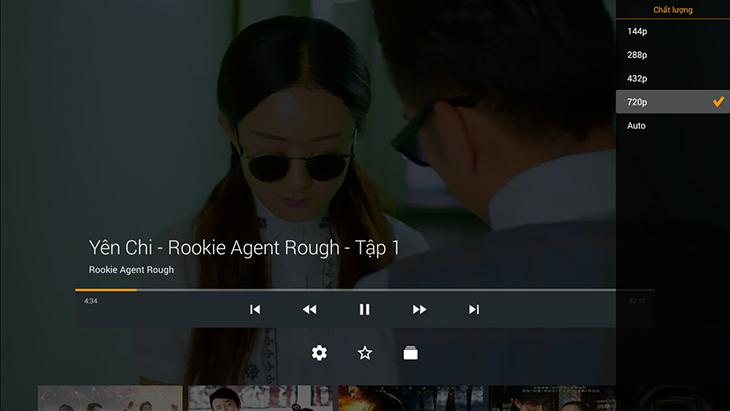 Xem tivi bằng app trên tivi