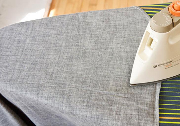 6 bước ủi áo sơ mi nhanh và phẳng hơn