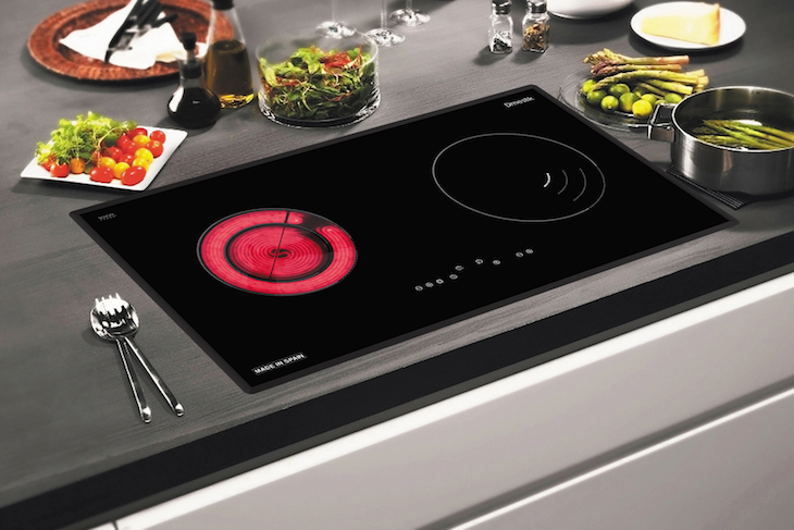 Mặt kính bếp hồng ngoại bị nứt - nguyên nhân và cách khắc phục