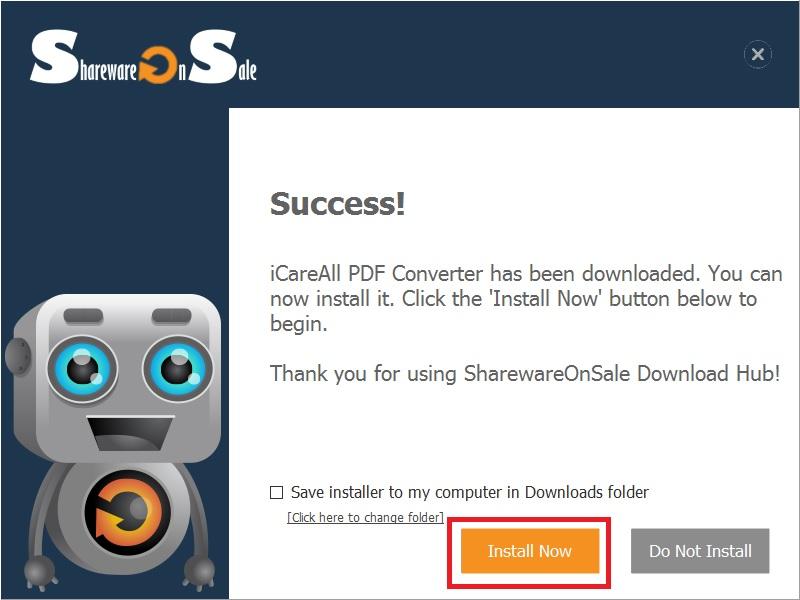iCareAll PDF Converter: Chuyển file PDF sang Word, Excel một cách dễ dàng
