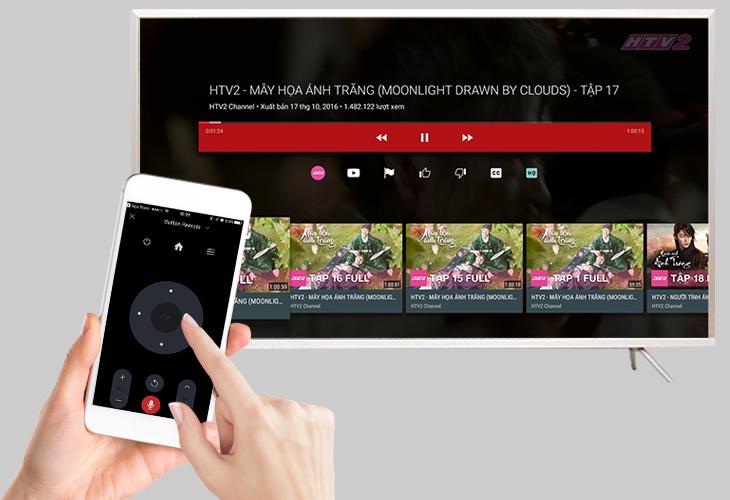 Điều khiển Smart tivi TCL bằng điện thoại