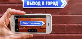 Dịch mọi ngoại ngữ bằng camera trên iPhone