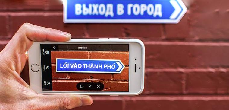 Dịch ngoại ngữ bằng camera trên iPhone