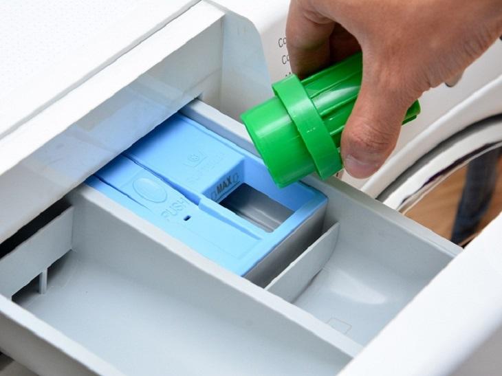 Loại xà phòng cũng sẽ ảnh hưởng đến lượng chất tẩy rửa cần dùng
