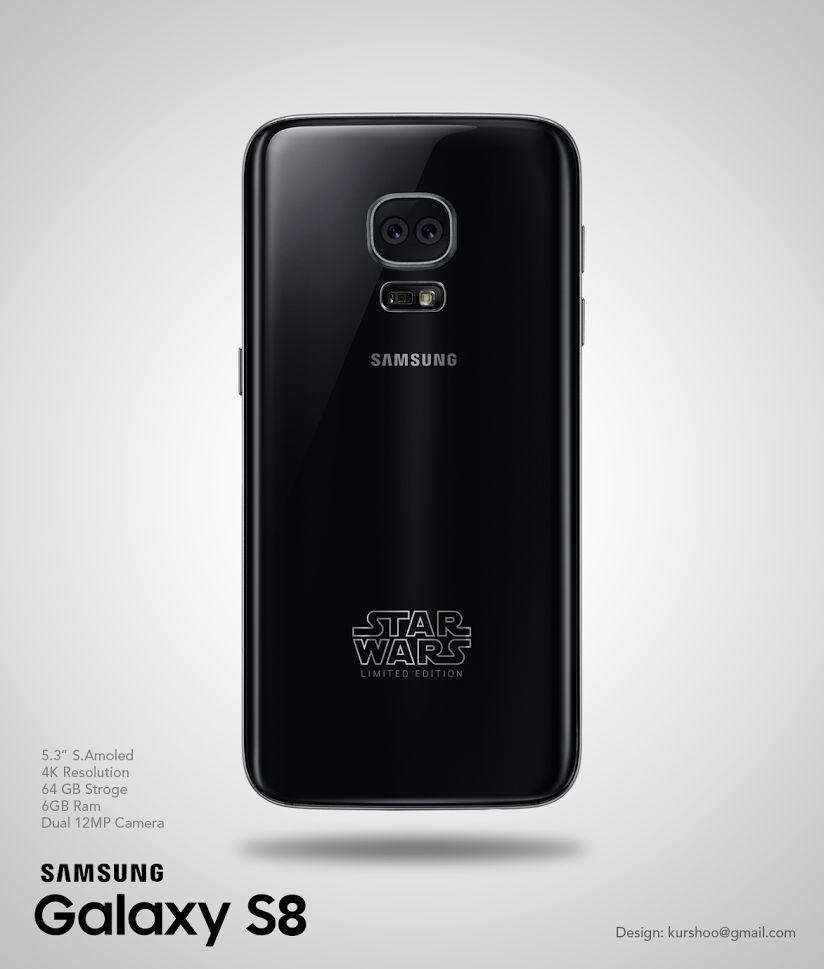 Galaxy S8 chưa ra mắt nhưng mẫu Galaxy S8 Star Wars đã xuất hiện
