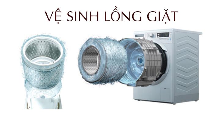 vệ sinh máy giặt tại Biên Hòa