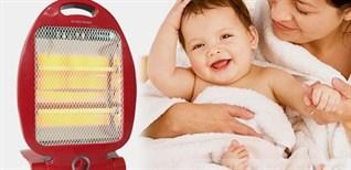 Tư vấn chọn mua máy sưởi thích hợp cho trẻ sơ sinh