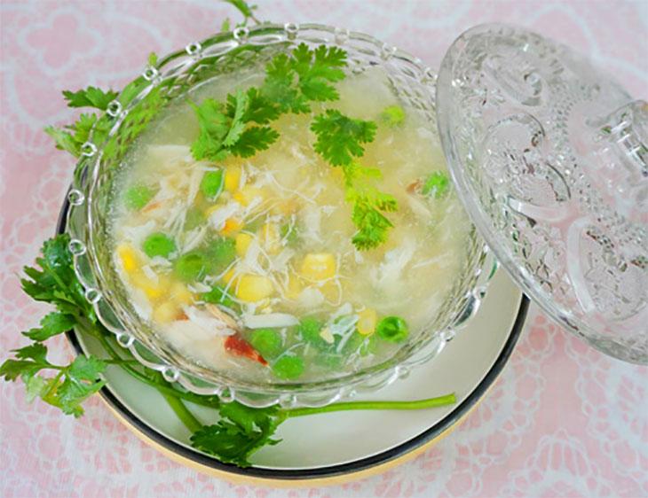Cách nấu súp cua ngon như nhà hàng