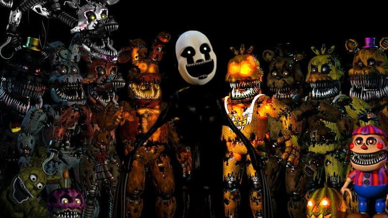 Hình ảnh trong game Five Nights at Freddy's 4