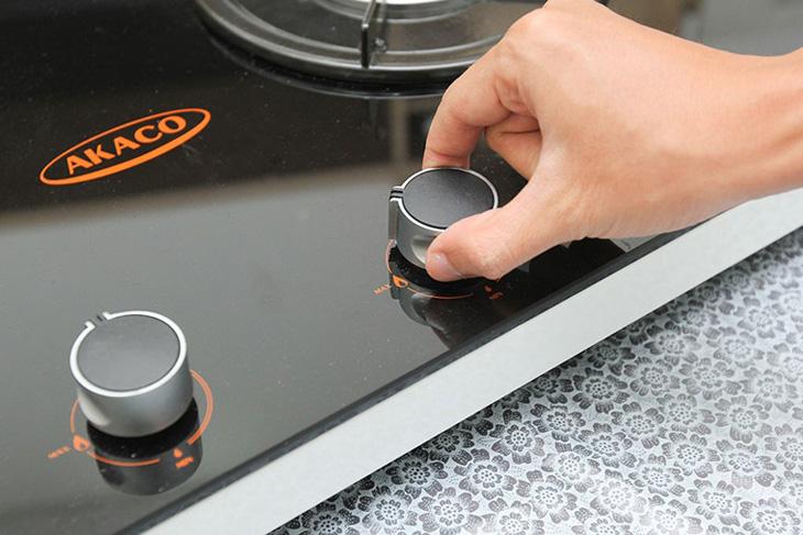 Bếp ga dễ tùy chỉnh mức nhiệt theo ý muốn giúp nấu ăn ngon