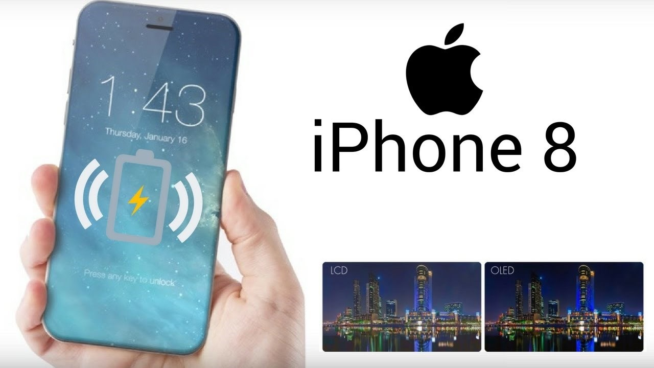 iPhone 8 sẽ được phủ toàn bộ bằng kính, hỗ trợ sạc không dây